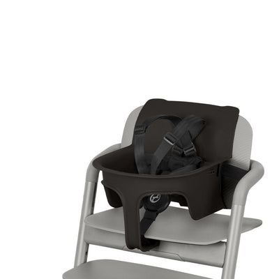 CYBEX LEMO Baby Set 2 - Infinity Black-Highchair Safety Bars-Infinity Black- Natural Baby Shower