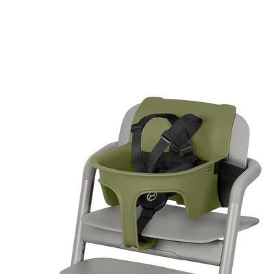 CYBEX LEMO Baby Set 2 - Outback Green-Highchair Safety Bars-Outback Green- Natural Baby Shower