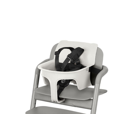 CYBEX LEMO Baby Set 2 - Porcelain White-Highchair Safety Bars-Porcelain White- Natural Baby Shower