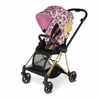 CYBEX Mios Pushchair - Cherub Pink by Jeremy Scott-Strollers-Gold-None- Natural Baby Shower