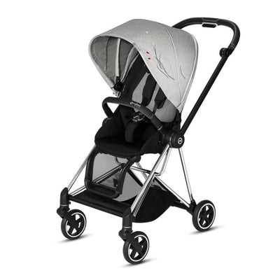 Cybex Mios Pushchair - Koi-Strollers-Chrome Black-None- Natural Baby Shower