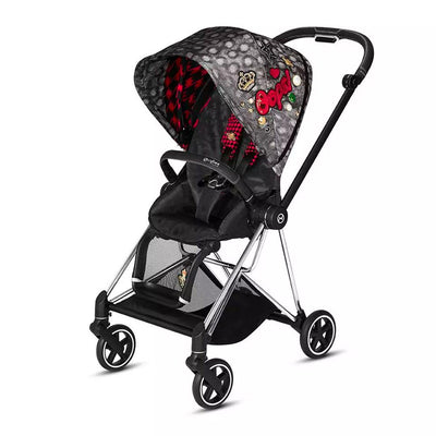 Cybex Mios Pushchair - Rebellious-Strollers-Chrome Black-None- Natural Baby Shower