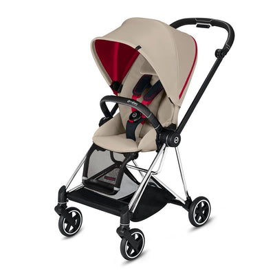 Cybex Mios Pushchair - Scuderia Ferrari - Silver Grey-Strollers-Chrome Black-None- Natural Baby Shower