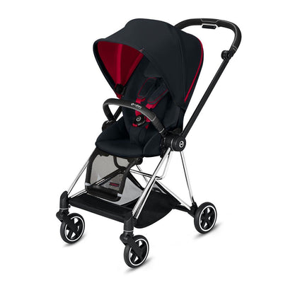 Cybex Mios Pushchair - Scuderia Ferrari - Victory Black-Strollers-Chrome Black-None- Natural Baby Shower