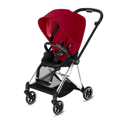 Cybex Mios Pushchair - True Red-Strollers-Chrome Black-None- Natural Baby Shower