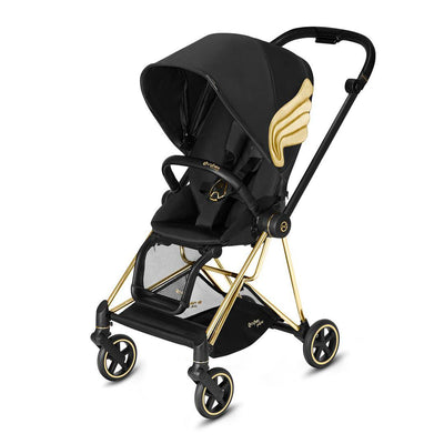 CYBEX Mios Pushchair - Wings by Jeremy Scott-Strollers-Gold-None- Natural Baby Shower