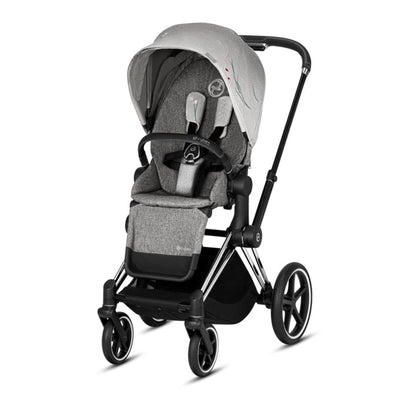 Cybex Priam Pushchair - Koi-Strollers-Chrome Black-None- Natural Baby Shower