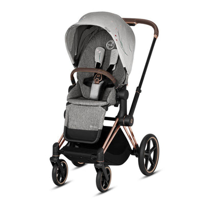 Cybex ePriam Pushchair - Koi-Strollers-Rose Gold-None- Natural Baby Shower