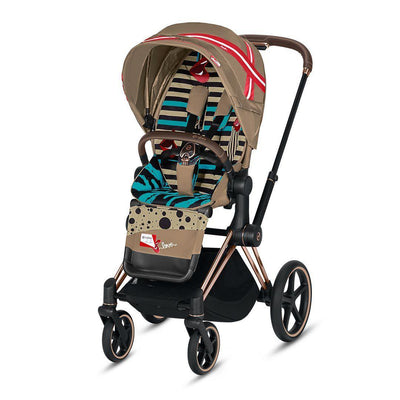 Cybex ePriam Pushchair - One Love - Karolina Kurkova-Strollers-Rose Gold-None- Natural Baby Shower
