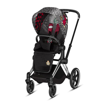 Cybex Priam Pushchair - Rebellious-Strollers-Chrome Black-None- Natural Baby Shower