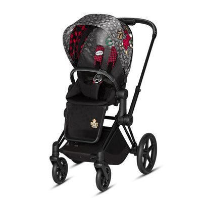 CYBEX Priam Pushchair - Rebellious + Matt Black - Ex-Display-Strollers- Natural Baby Shower