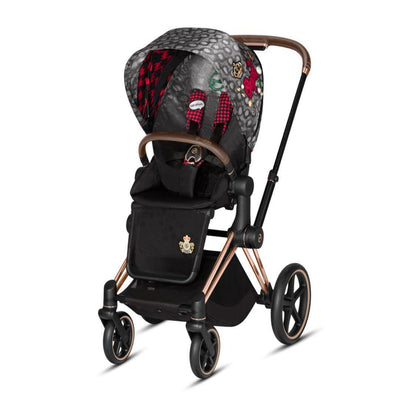 Cybex ePriam Pushchair - Rebellious-Strollers-Rose Gold-None- Natural Baby Shower
