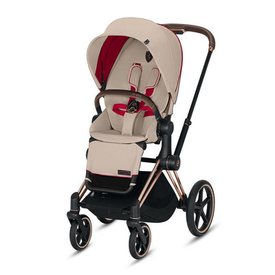 Cybex ePriam Pushchair - Scuderia Ferrari - Silver Grey-Strollers-Rose Gold-None- Natural Baby Shower