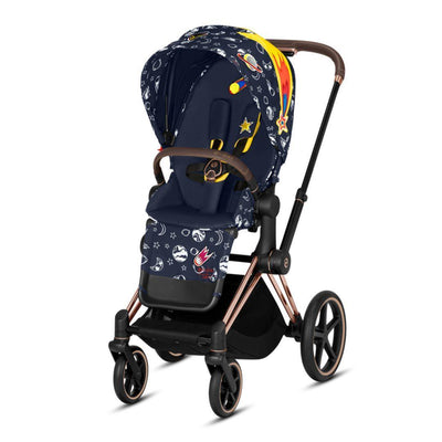 Cybex ePriam Pushchair - Space Rocket-Strollers-Rose Gold-None- Natural Baby Shower
