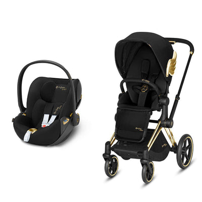 CYBEX Priam Travel System - Wings by Jeremy Scott-Travel Systems-Gold-None-Cloud Z- Natural Baby Shower