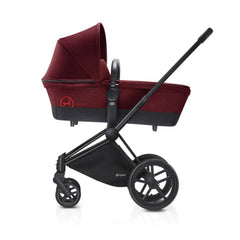 Cybex Priam Pushchair with Carrycot - Chrome Chassis + Infra Red