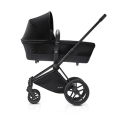 Cybex Priam Pushchair with Carrycot - Black Chassis + Stardust Black