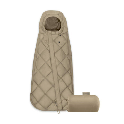 CYBEX Snogga Mini Footmuff - Classic Beige-Footmuffs- Natural Baby Shower