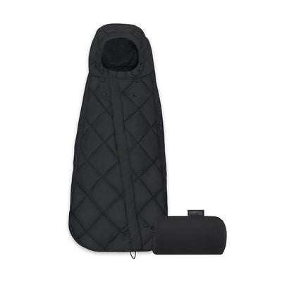 CYBEX Snogga Mini Footmuff - Deep Black-Footmuffs- Natural Baby Shower