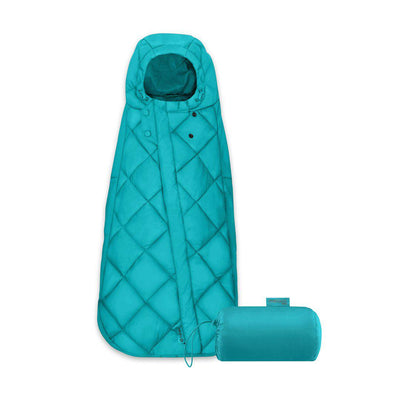 CYBEX Snogga Mini Footmuff - River Blue-Footmuffs- Natural Baby Shower