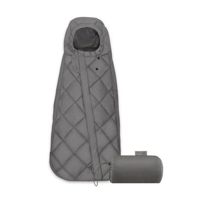 CYBEX Snogga Mini Footmuff - Soho Grey-Footmuffs- Natural Baby Shower