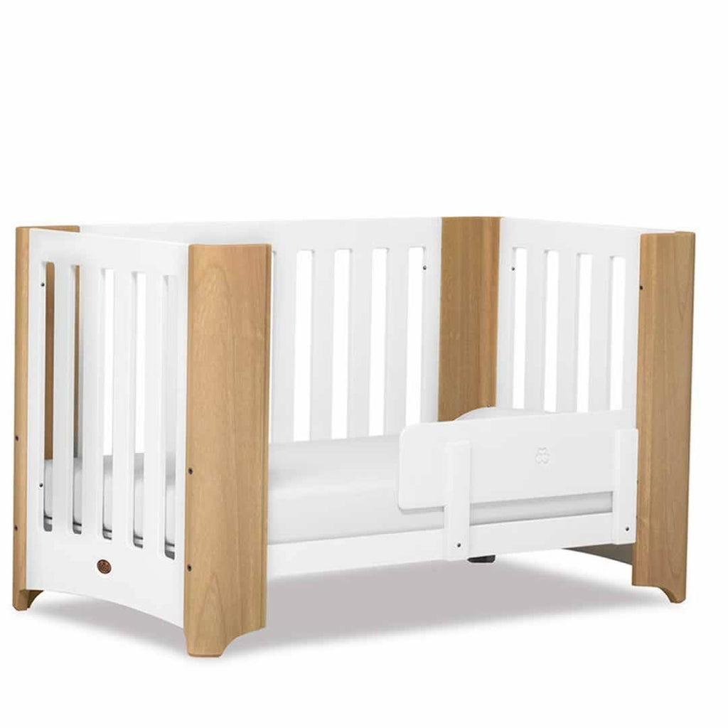 Boori Dawn 2 Piece Nursery Set Cot in Beech/White