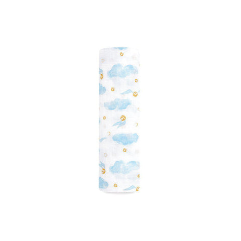 aden + anais Single Muslin Swaddle - Harry Potter-Swaddling Wraps- Natural Baby Shower