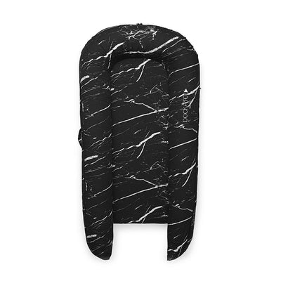 DockATot Grand Dock - Black Marble-Baby Nests- Natural Baby Shower