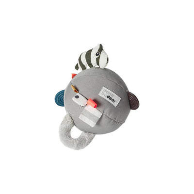 Done by Deer Activity Ball - Grey-Soft Toys-Grey- Natural Baby Shower