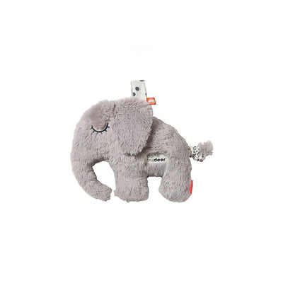 Done by Deer Musical Cuddle Toy - Elphee - Grey-Soft Toys-Grey- Natural Baby Shower