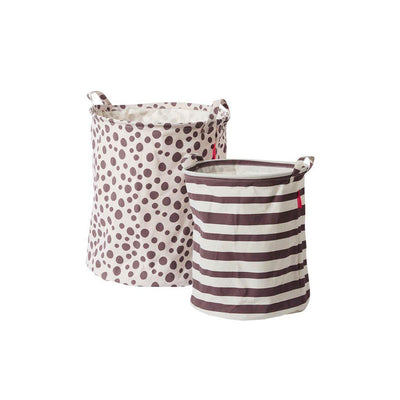 Done by Deer Soft Storage Baskets - Pink - 2pc-Storage- Natural Baby Shower