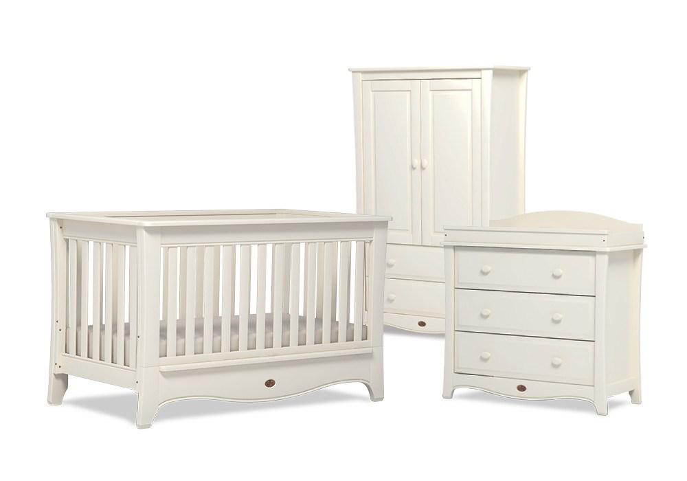Dressers & Chests - Boori Provence 3 Drawer Dresser - Ivory