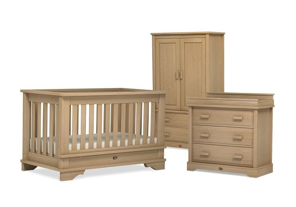 Dressers & Chests - Boori Universal 3 Drawer Dresser With Changing Station - Natural