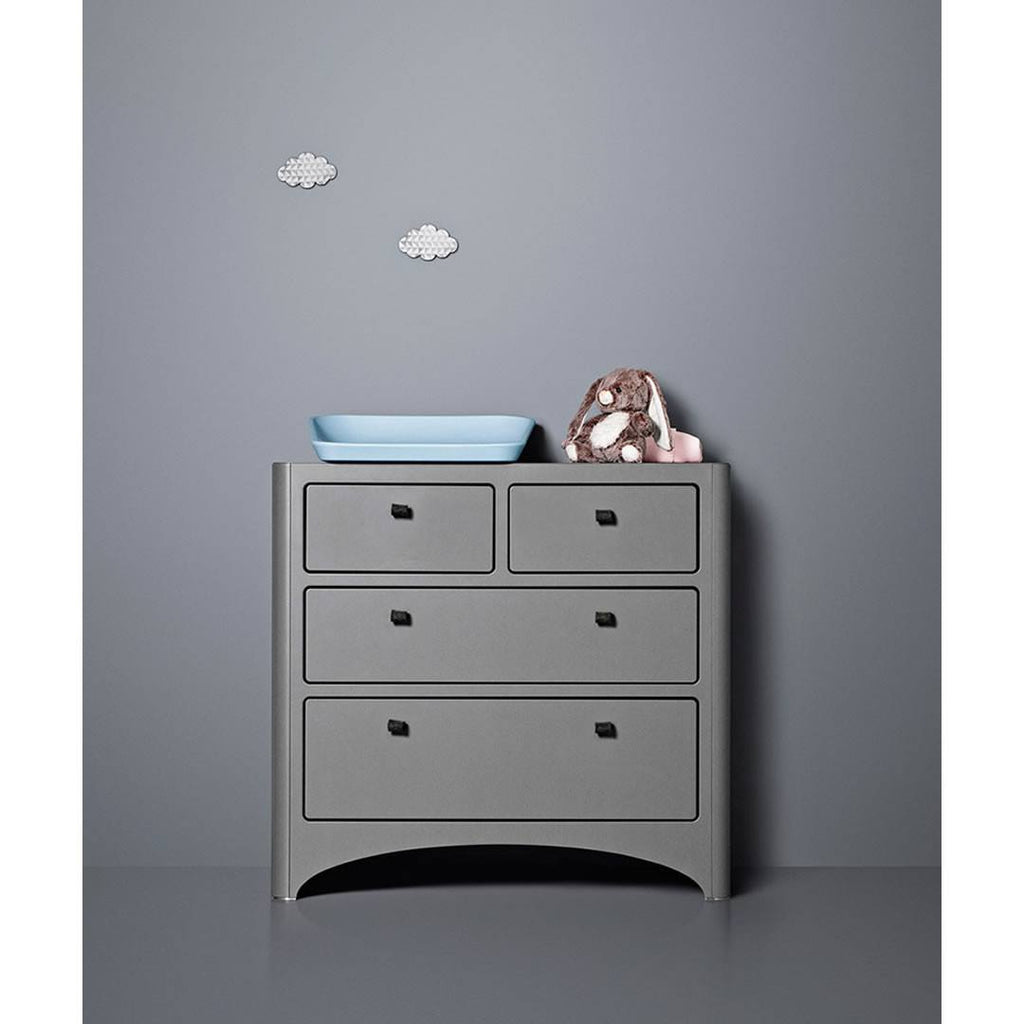 Leander Chest of Drawers - Grey-Dressers & Chests- Natural Baby Shower