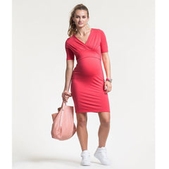 Dresses - Boob Maternity & Nursing Sophia Dress - Red