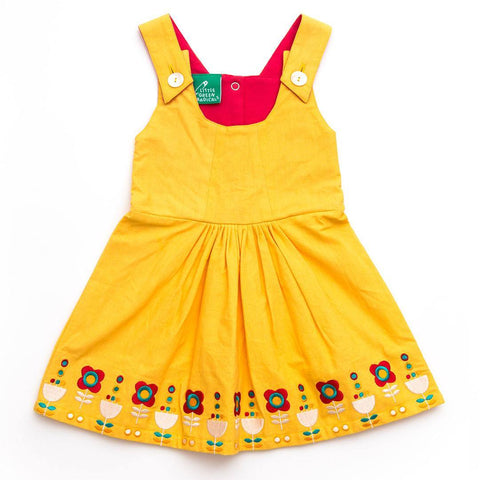 Little Green Radicals Woven Tunic Dress - Daffodil - Dresses - Natural Baby Shower