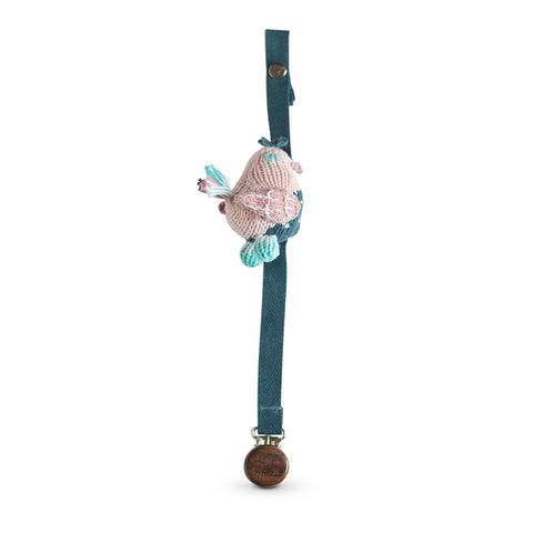 Dummy Chains - Finn + Emma Pacifier Holder - Stella The Sparrow