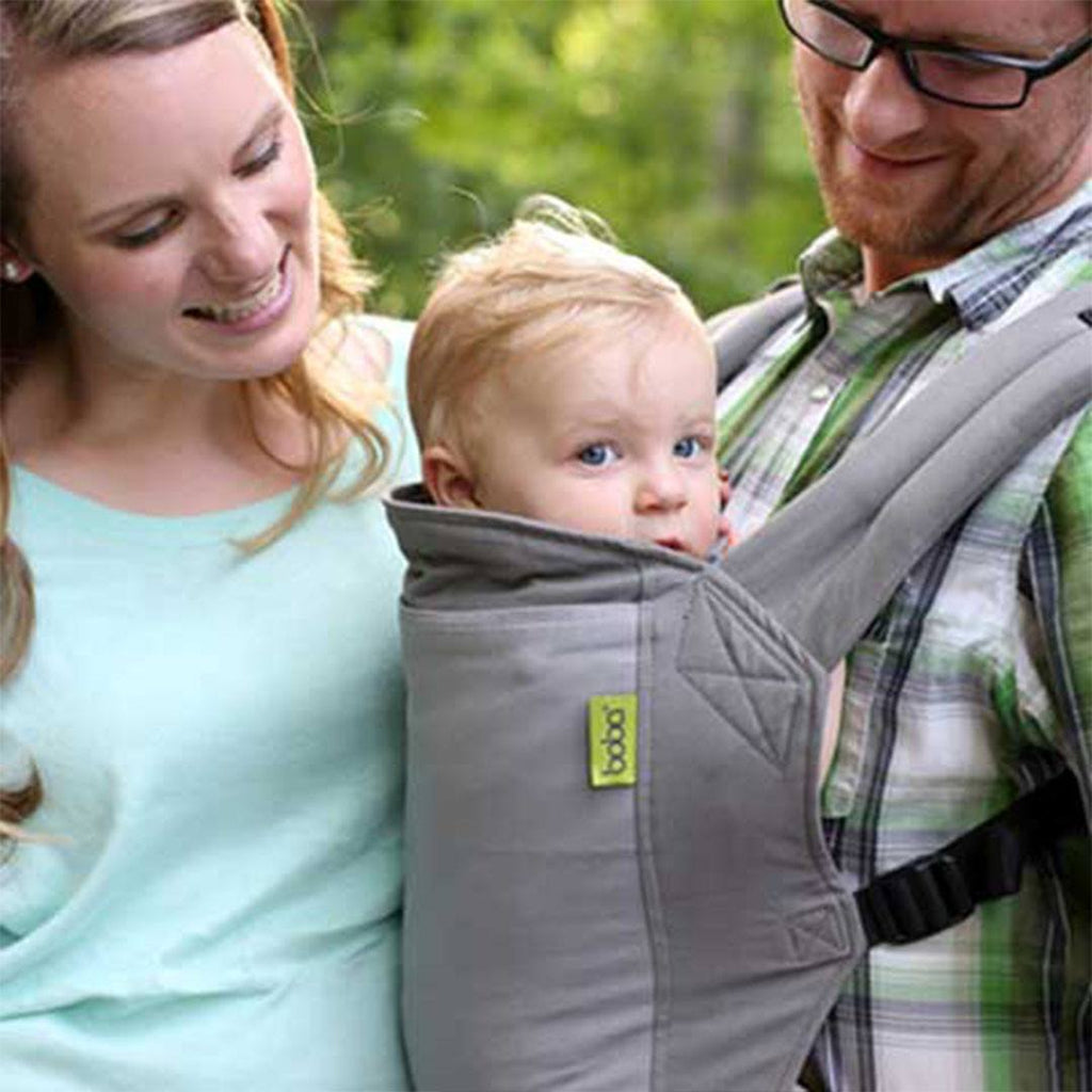 Boba 2-in-1 Grey Baby Carrier Combo Lifestyle