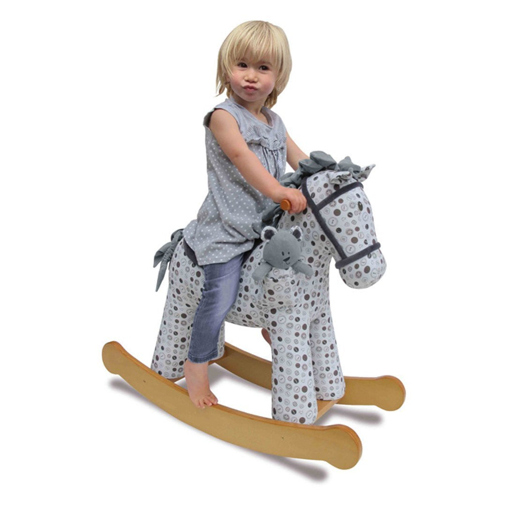 A Little Bird Told Me - Rocking Horse - Dylan and Boo - Ride-on & Rockers - Natural Baby Shower