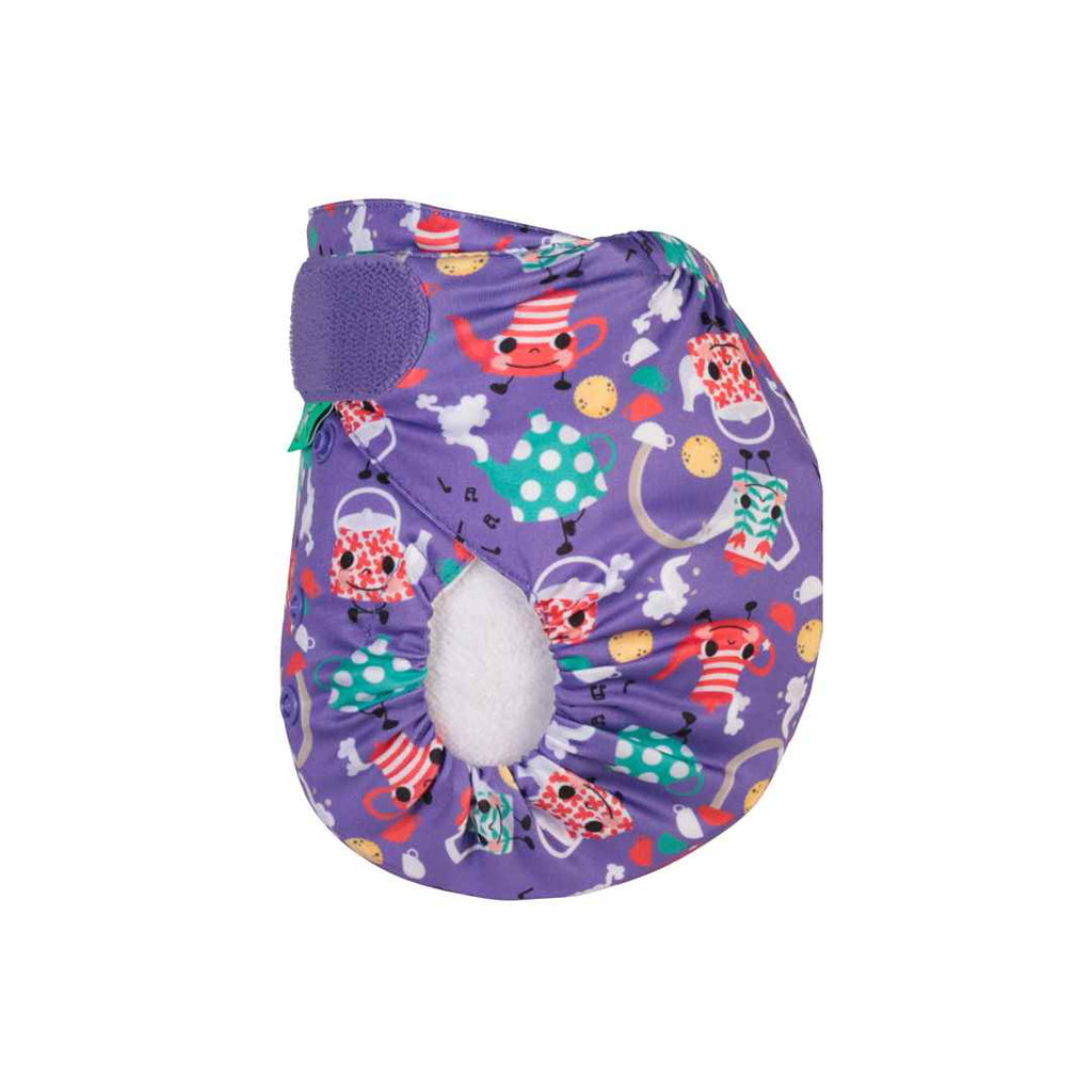 TotsBots Easyfit Star Nappy - I'm a Little Tea Pot-Nappies-I'm a Little Tea Pot- Natural Baby Shower