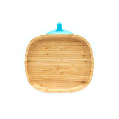 Eco Rascals Open Plate - Blue-Bowls & Plates-Blue- Natural Baby Shower