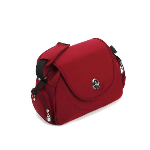 egg Changing Bag - Berry Red