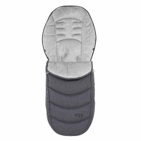 egg Footmuff - Quantum Grey