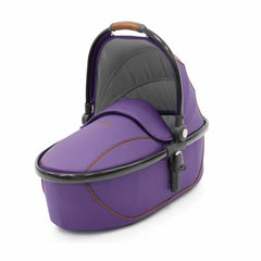 egg Carrycot Gun Metal with Gothic Purple
