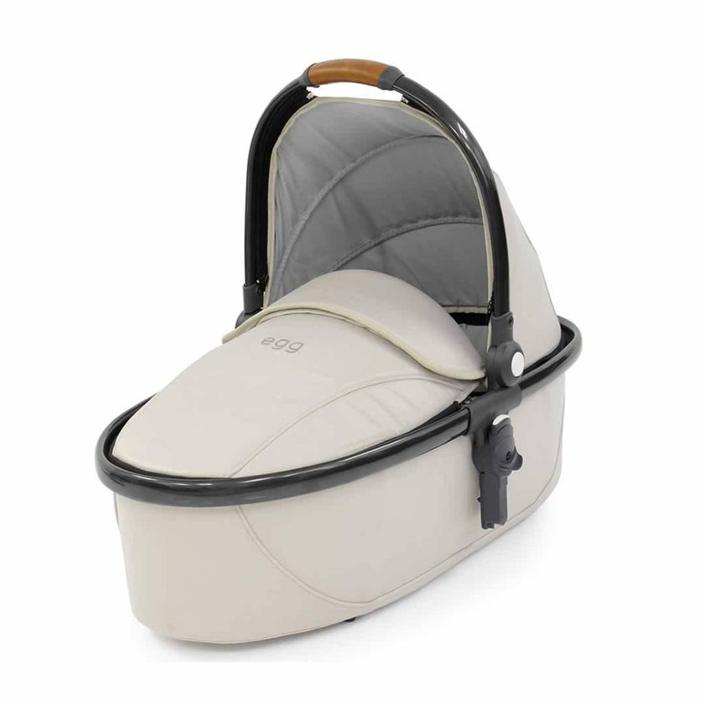 egg Carrycot Gun Metal with Jurassic Cream