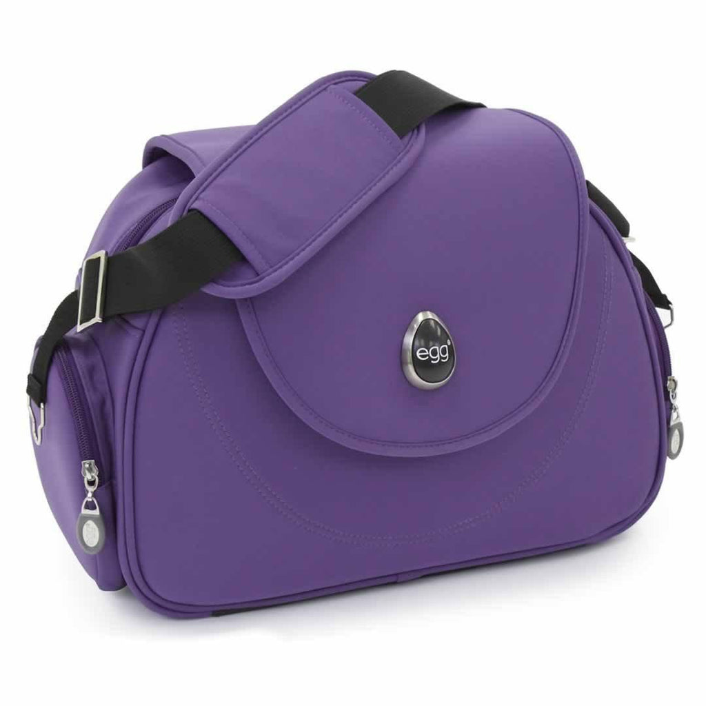 egg Changing Bag in Gothic Purple