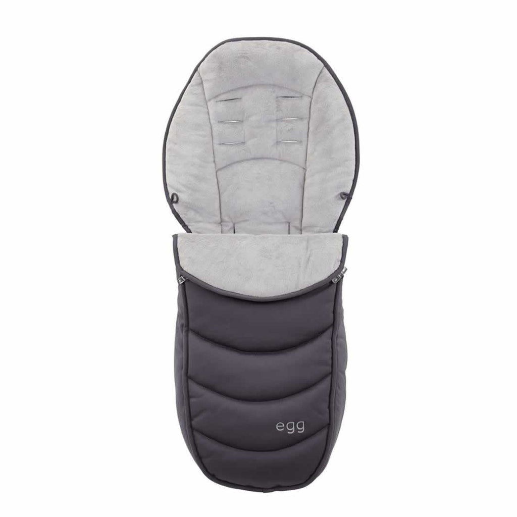 egg Footmuff in Storm Grey