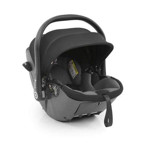 egg Kiddy Evo Luna I-size Car Seat + Base Grey + Black