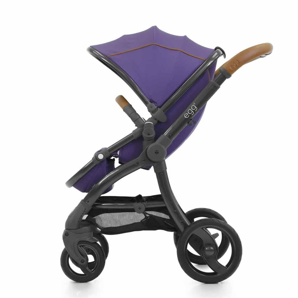 egg Stroller - Gothic Purple Side