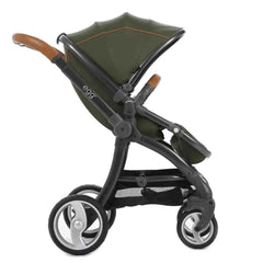 egg Stroller in Gun Metal with Forest Green